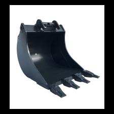 Hloubková lopata zubová pro nosiče 2-3 t, šířka 500 mm